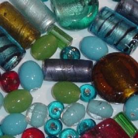 Handmade Glass Beads Glass Bead Jewellery Hand Made