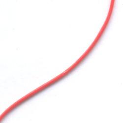 Skinny Sgetti String Plastic Tubing Red