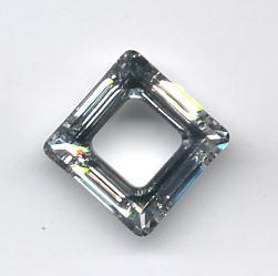 2557e4f8d 20mm Swarovski 4439 Ring Square Crystal CAL